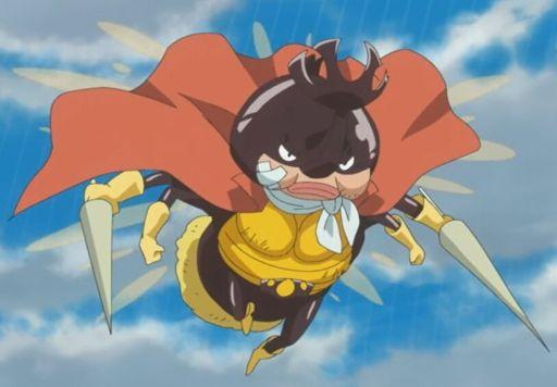 Buah Iblis Zoan Terbang Mushi Mushi No Mi Model Kabutomushi