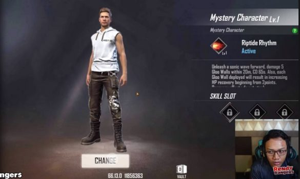 Mysterious Character Free Fire