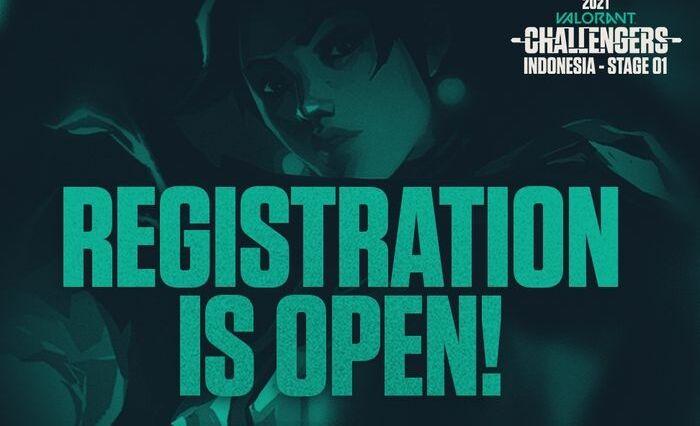 Pendaftaran Valorant Challenger Indonesia Stage – 01