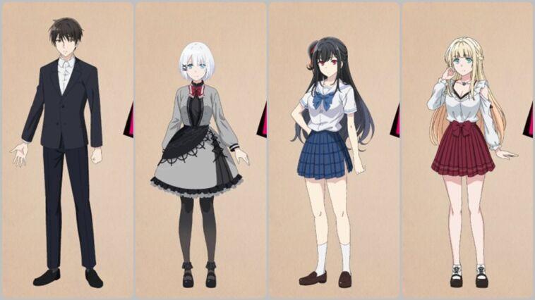 Seiyuu Adaptasi Anime Tantei Wa Mou, Shindeiru