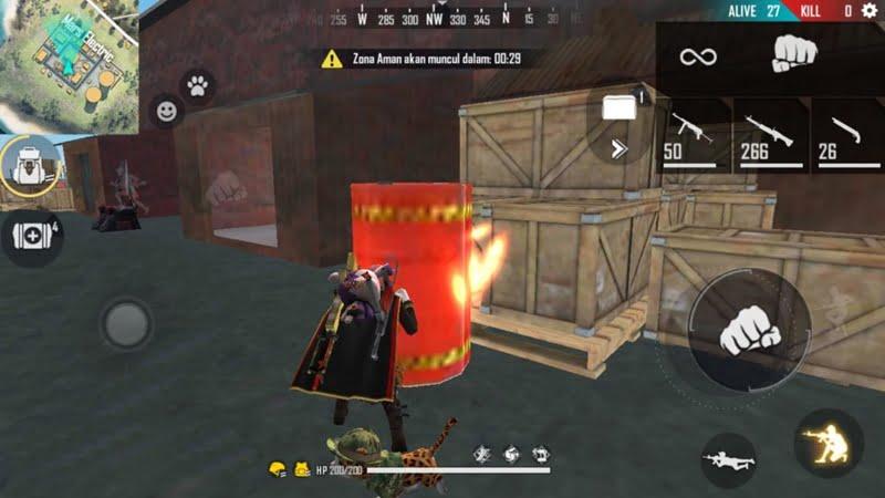 Tong Merah Free Fire
