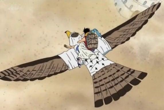 Buah Iblis Zoan Terbang Tori Tori No Mi Model Falcon