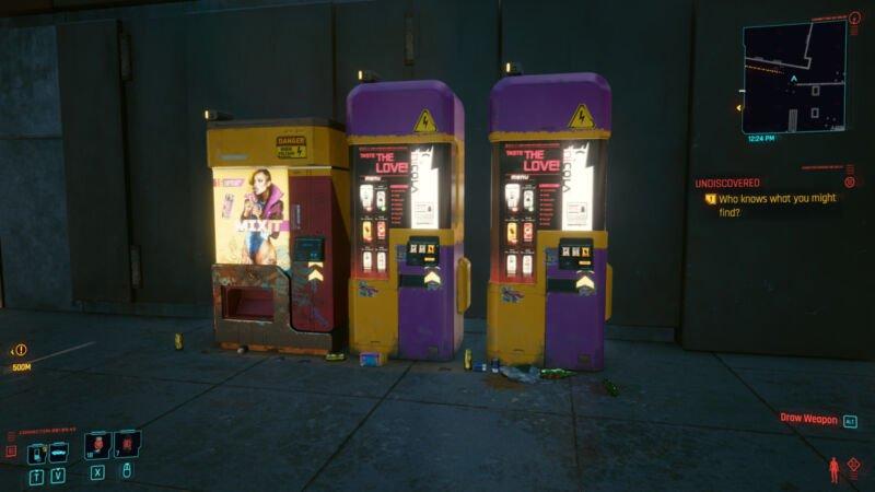 Vending Machine Cyberpunk 2077