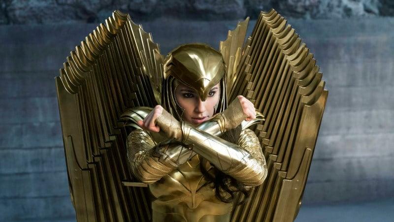 Wonder Woman Golden Armor Featured