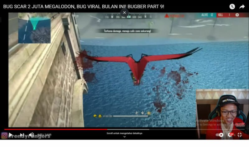 Bug Berjalan Di Atas Air