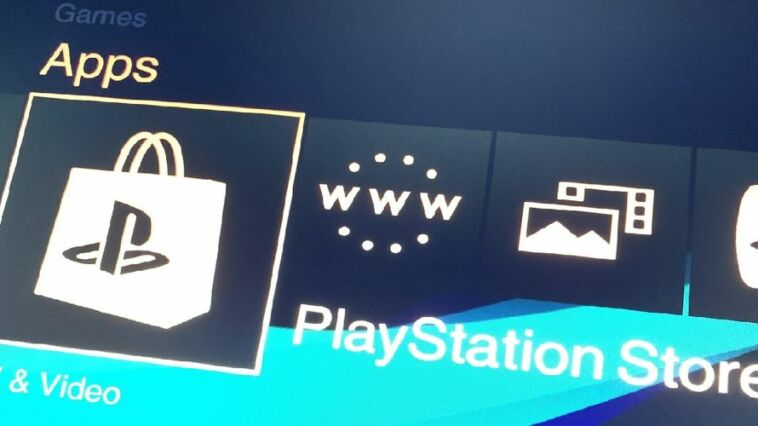 Bug Playstation Store