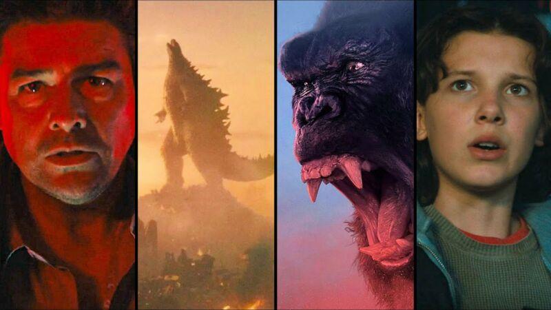 Karakter Godzilla Vs Kong
