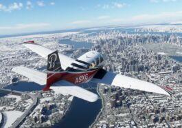 Microsoft Flight Simulator Salju