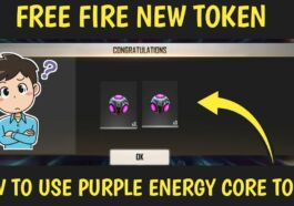 Token Purple Energy Free Fire