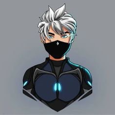 Logo Free Fire Keren- Black Mask