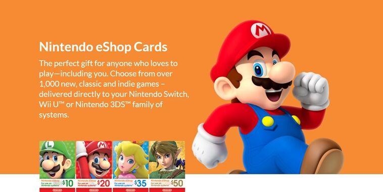Cara Mudah Top Up Nintendo Eshop Card