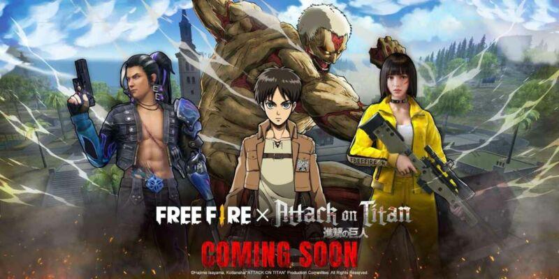 Free Fire X Attack On Titan 1