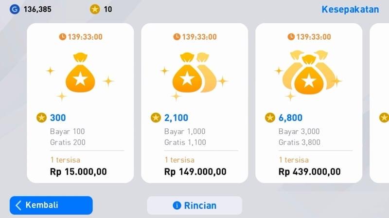Pilih Koin Myclub1