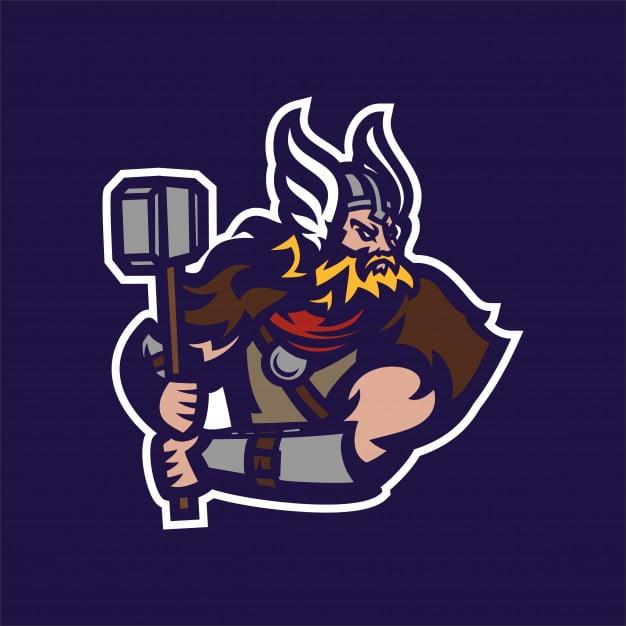 Barbarian Knight Viking