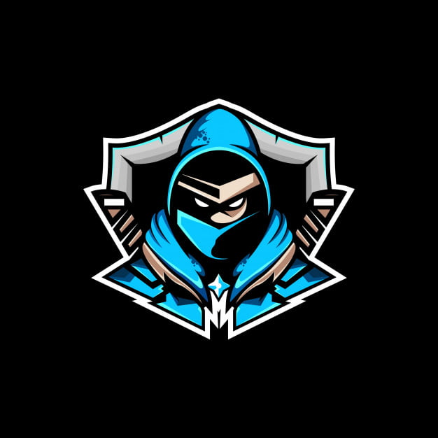 Logo Free Fire Keren-Blue Ninja