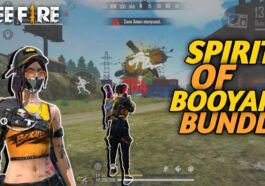 Bundle Spirit Booyah Free Fire