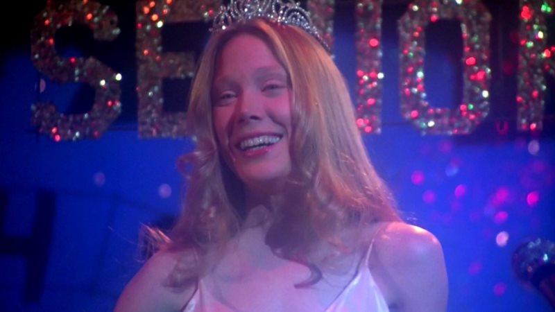 Carrie 1976 006 Sissy Spacek Prom Smile