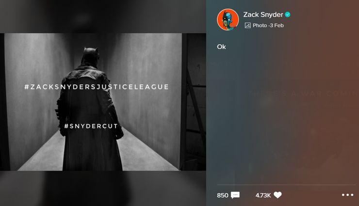 Knightmare Batman Snyder Cut