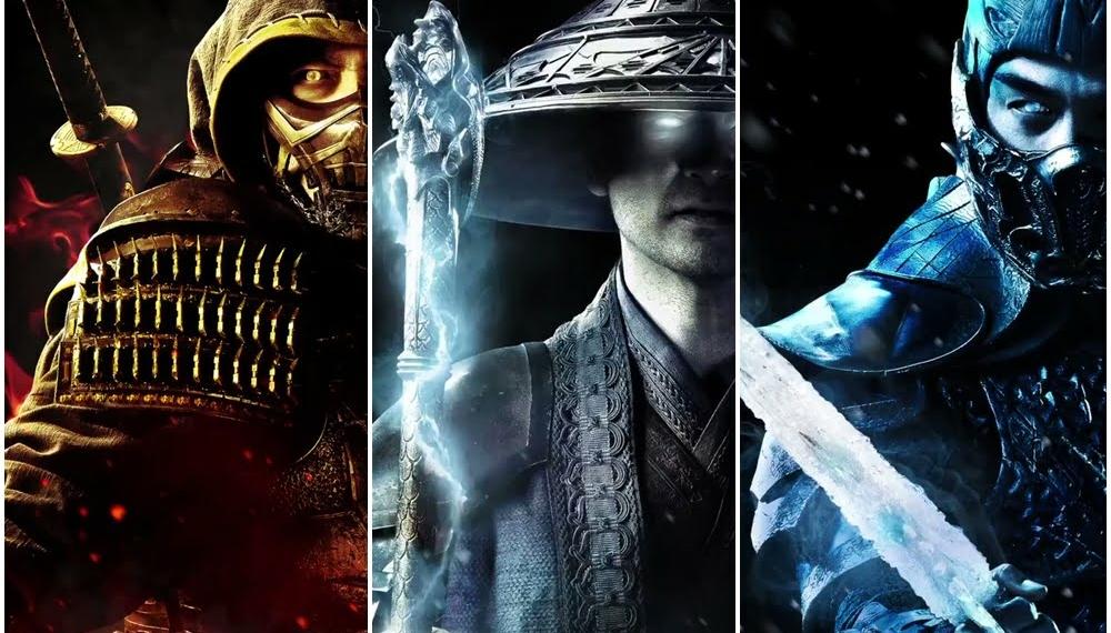 Poster Karakter Mortal Kombat