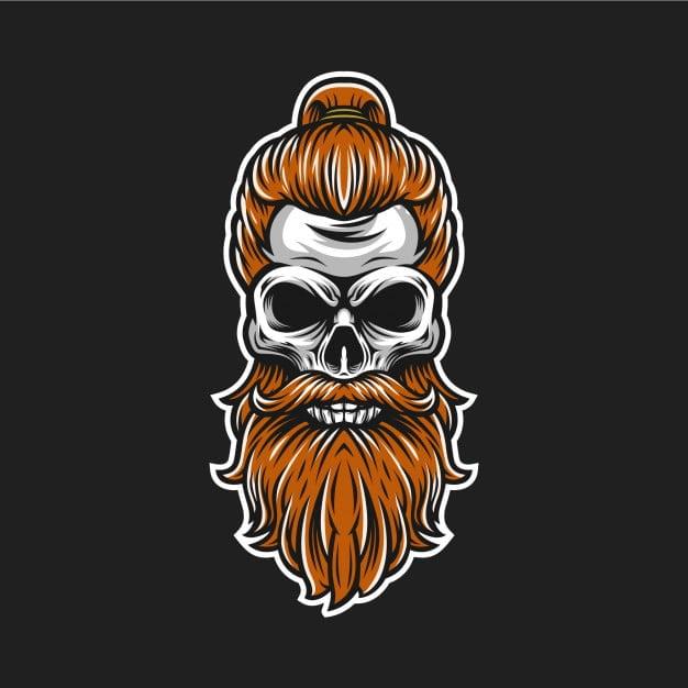 Skull Beard