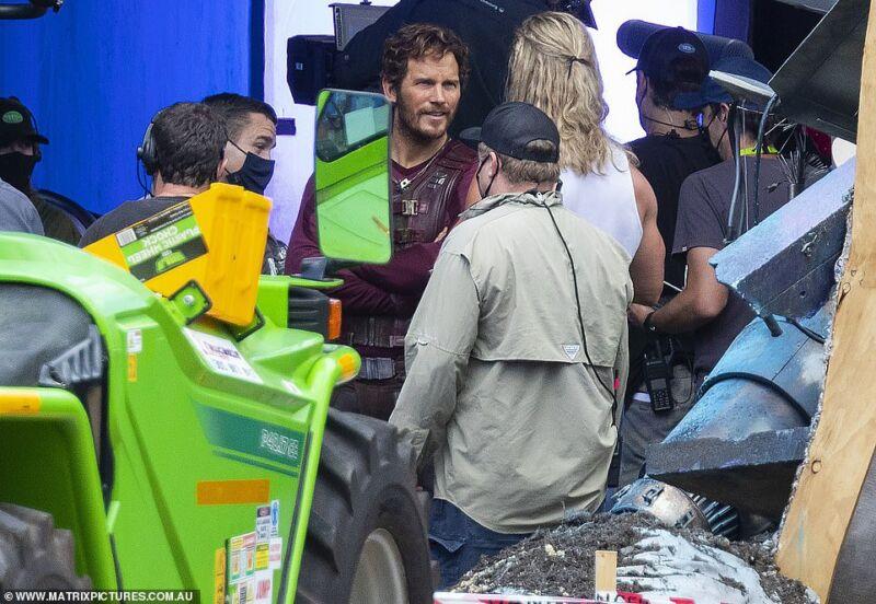 Thor Dan Star Lord