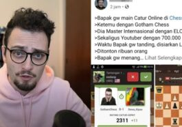 Akun Pecatur Asal Indonesia Dibanned Usai Kalahkan Pro Player Chess.com