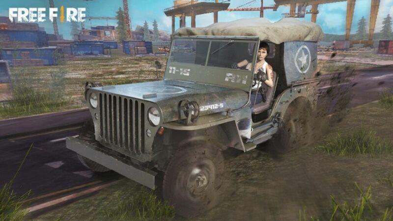 Jeep Free Fire