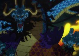 Manga One Piece 1008, Wujud Zoan Hybrid Kaido Terungkap
