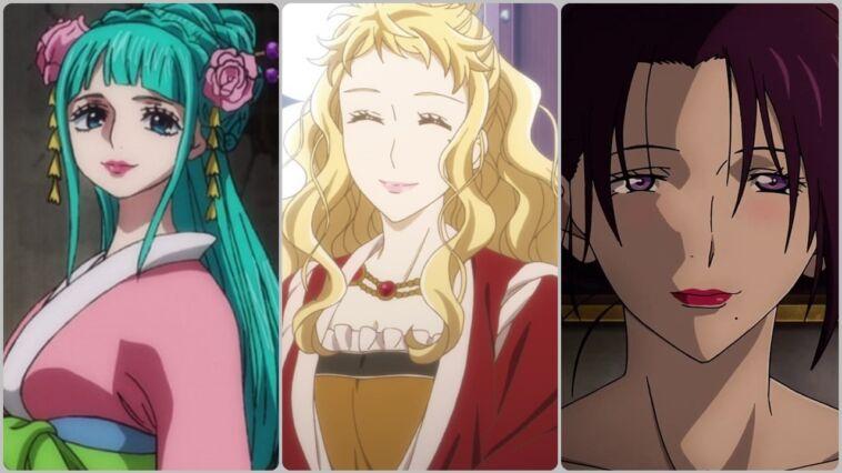 Wanita Penghibur Paling Mempesona Di Anime