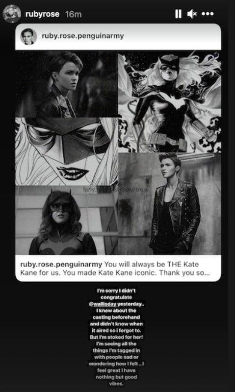 Ruby Rose Reaction Recast