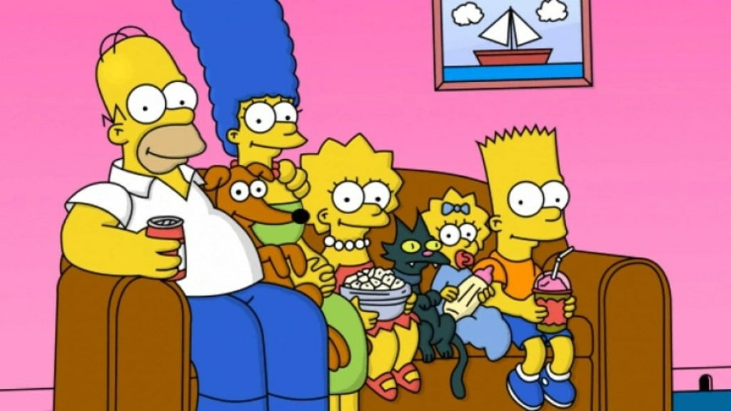 The Simpsons usai