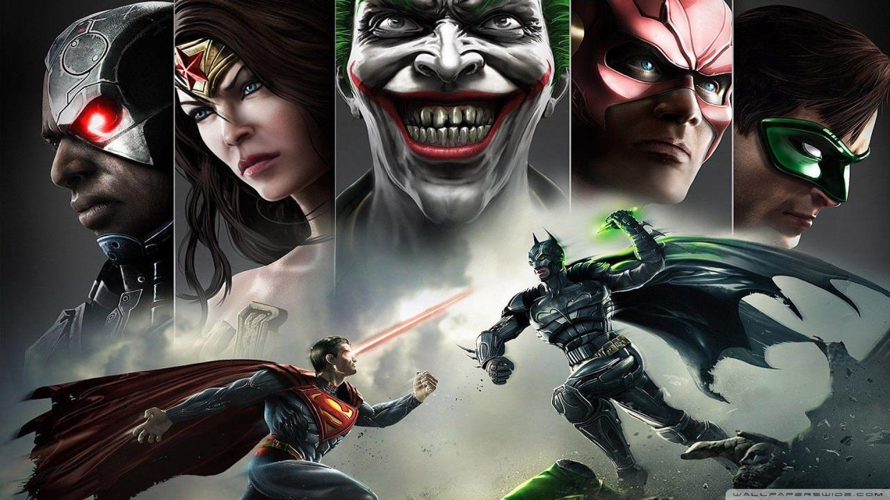 Injustice game justice league