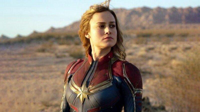 Brie Larson bagikan video