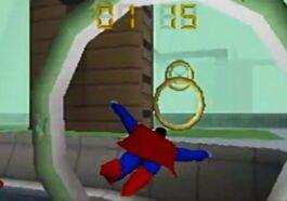game superman naik pintam
