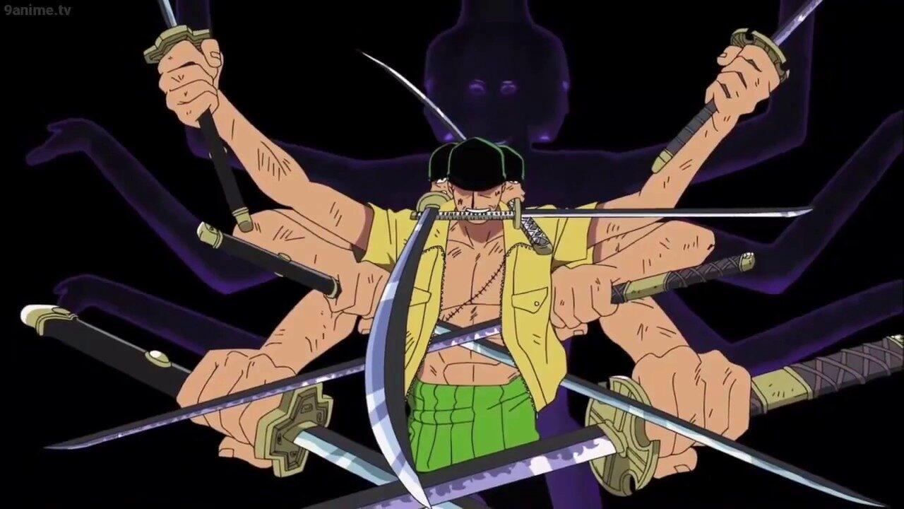 Zoro Bisa Haoshoku Haki, Manga One Piece Chapter 1010