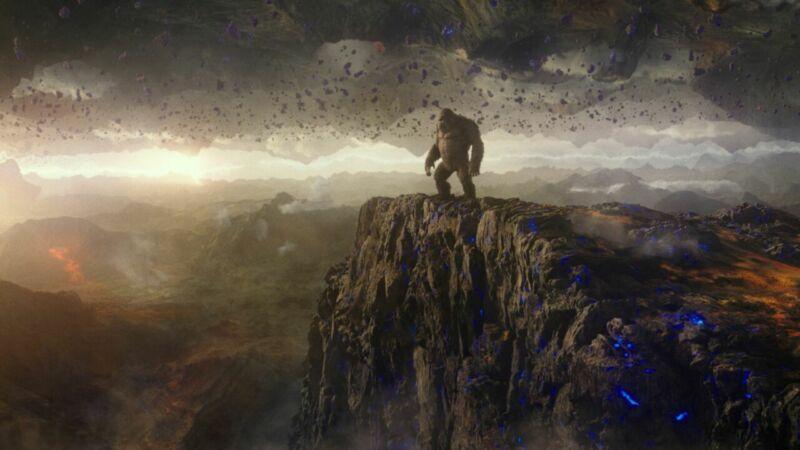 Kong Hollow Earth
