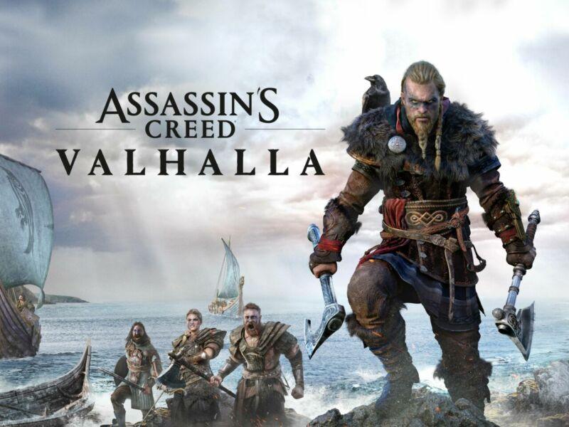 game open world pc terbaik- Assassins Creed Valhalla