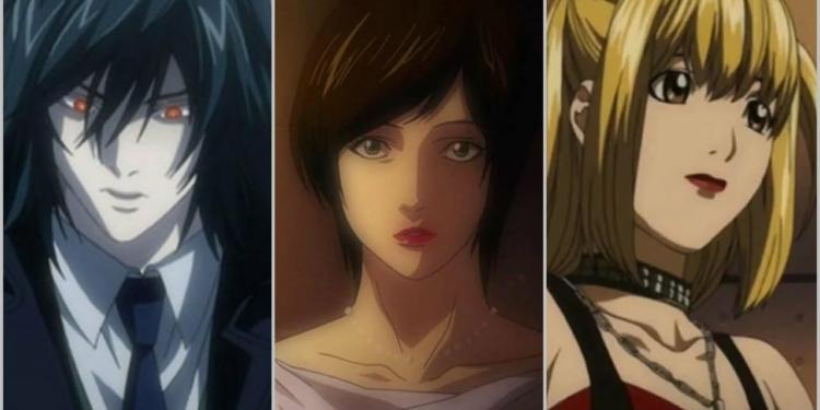 Karakter Yang Pernah Memegang Death Note