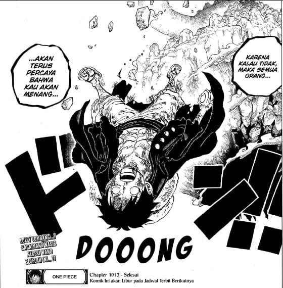 Luffy Tumbang Kembali