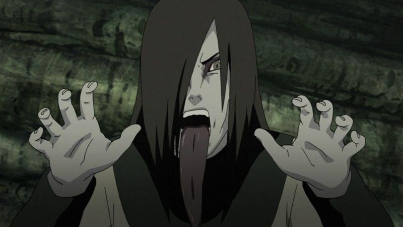 Orochimaru + Ninja Terpintar di Naruto