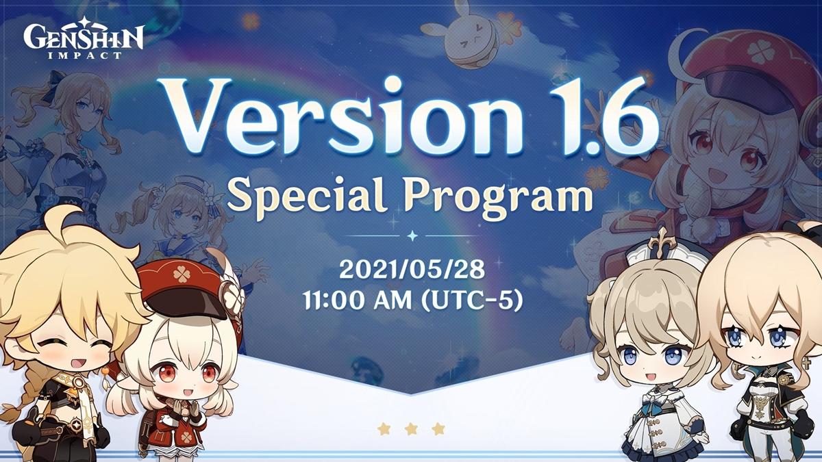 Program Special Genshin Impact V1.6