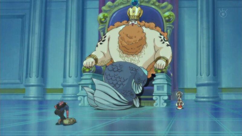 Raja Neptune + Majikan Jinbe One Piece