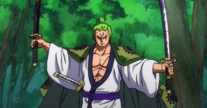 Roronoa Zoro + Karakter yang Mengalahkan Kaido