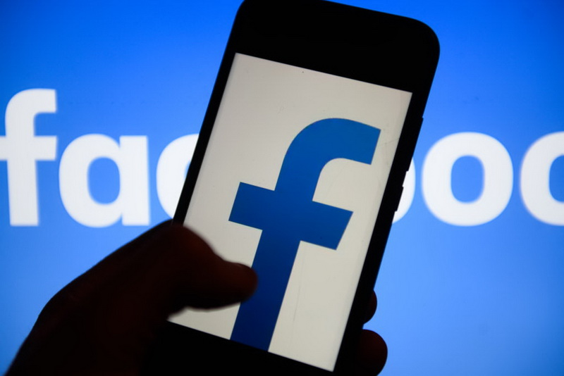 Facebook Logo Is Seen On An Android Mobile Phone