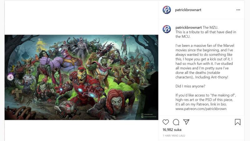 Fan Art Mcu Zombie