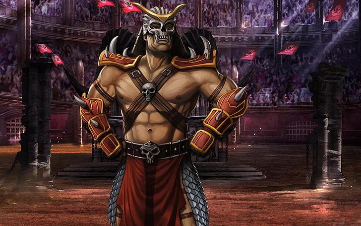 Mortal Kombat Shao Kahn Mk 9 Arena Wallpaper Preview