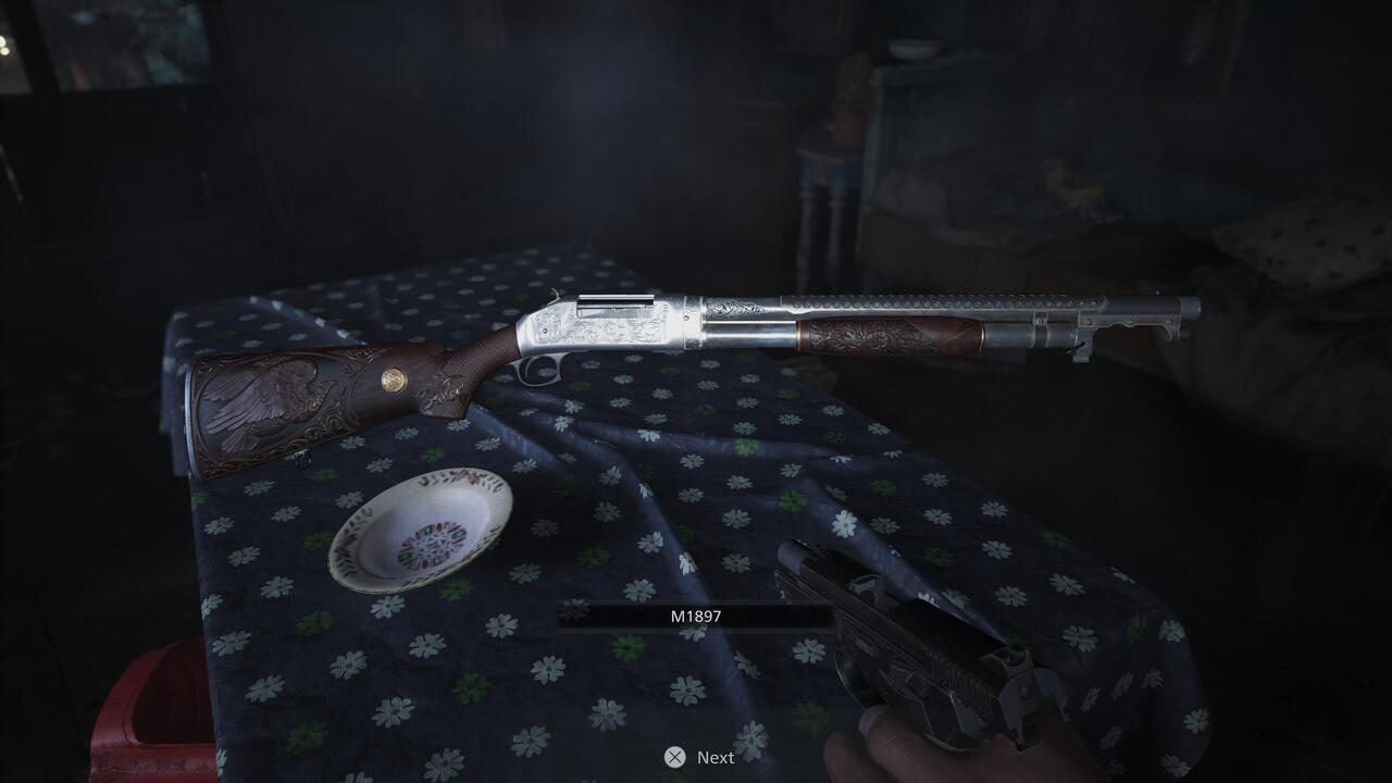 Shotgun Resident Evil Village