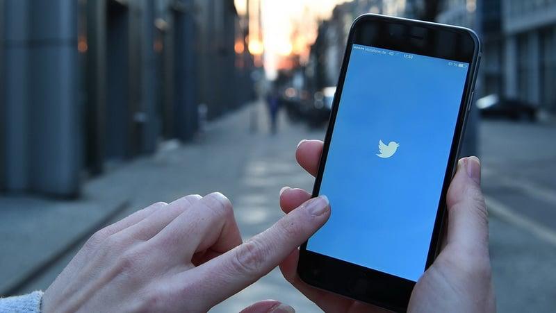 Twitter Auf Smartphone
