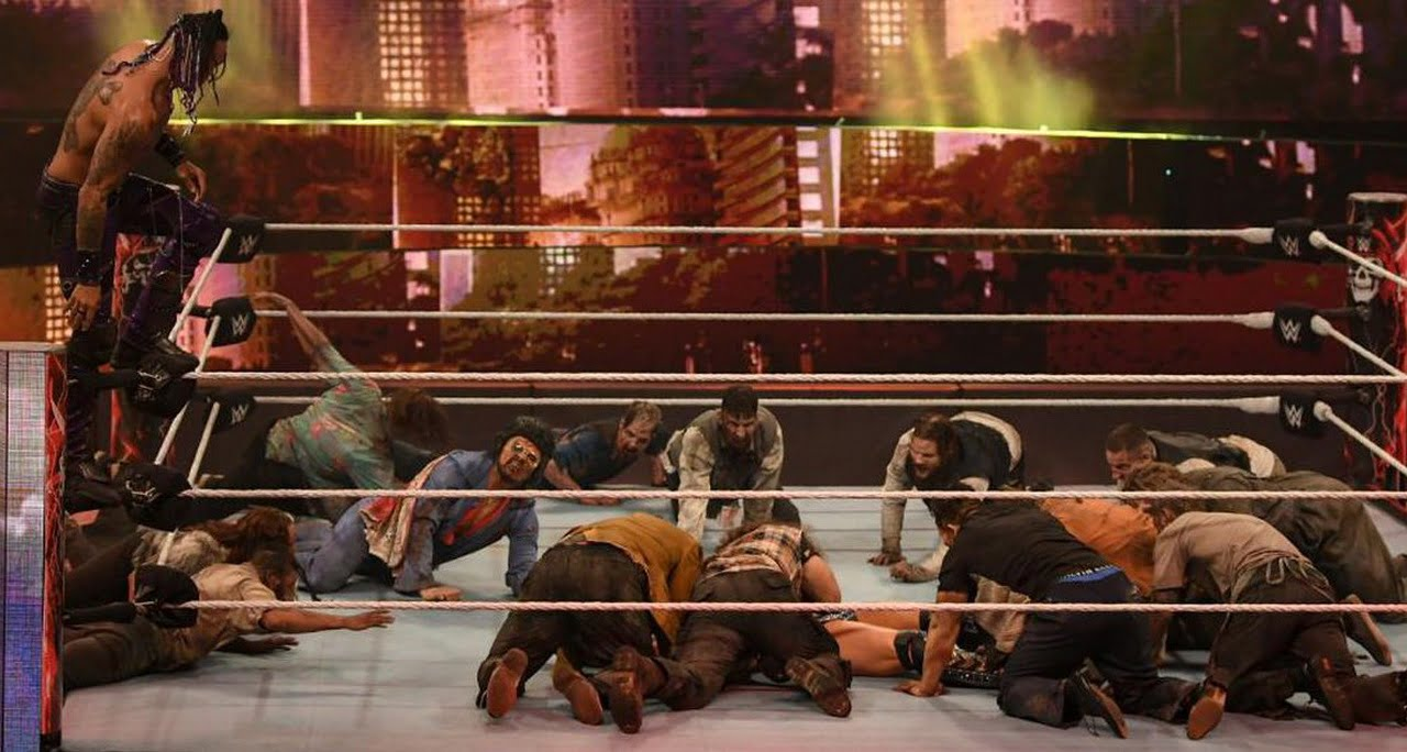 Army of the dead wwe