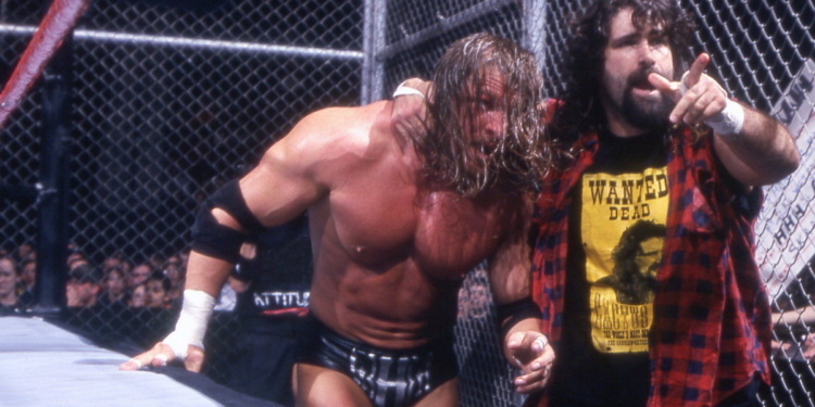 pertandingan Hell in a Cell terbrutal WWE